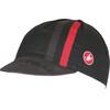 Castelli Podio Doppio Headwear red/black
